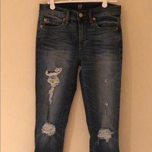 GAP Jeans - Gap high rise skinny jeans